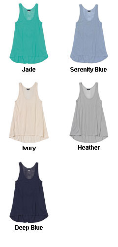 Keira Crochet Ladies Tank - All Colors