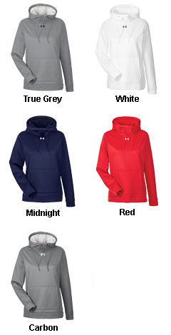 Ladies Under Armour Storm Armour® Fleece Hoodie - All Colors