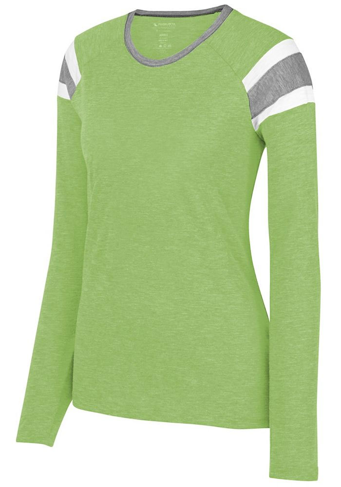 Augusta Ladies Long Sleeve Fanatic Tee