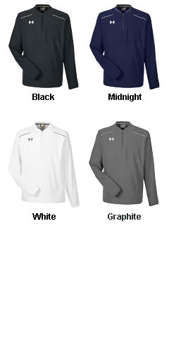 Mens Under Armour Ultimate Long Sleeve Windshirt - All Colors
