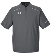 Custom Mens Under Armour Ultimate Short Sleeve Windshirt