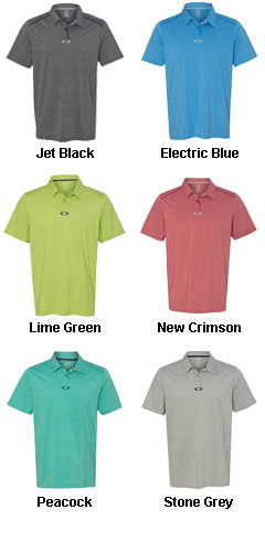 Oakley - Newlyn Heathered Polo - All Colors