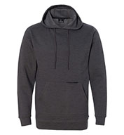 Custom Burnside Mens Injected Yarn Dyed Fleece Hooded Pullover
