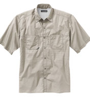 Custom Dri Duck Mens Guide Performance Poplin Shirt