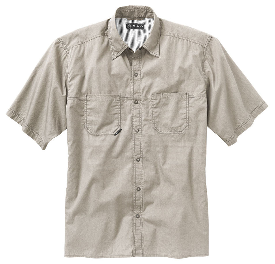 Dri Duck Guide Performance Mens Poplin Shirt
