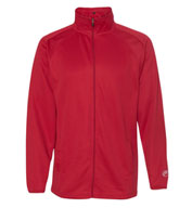 Custom Rawlings Mens Full-Zip Flatback Mesh Fleece Jacket