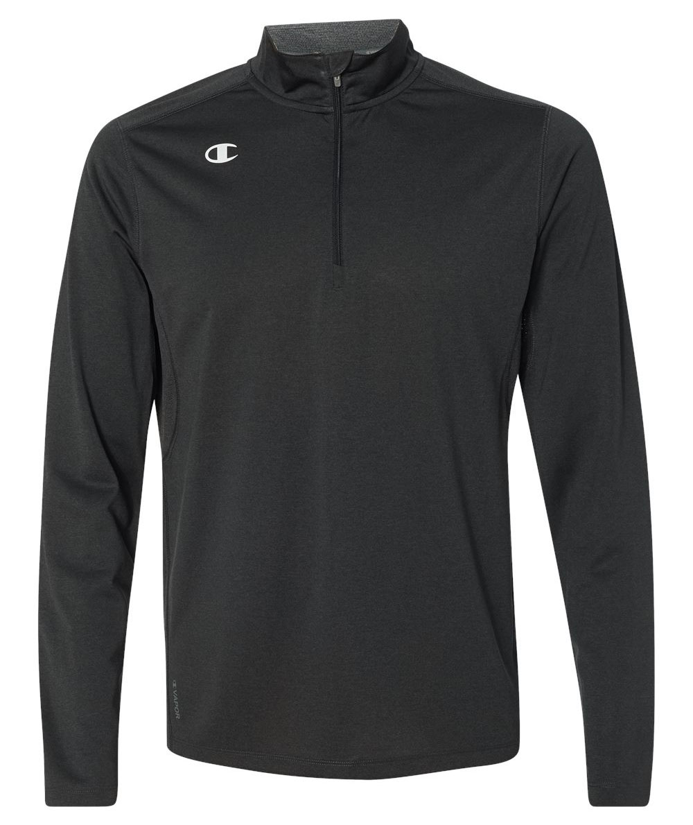Champion Mens Vapor® Quarter-Zip Pullover