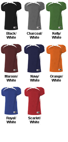 Youth Elusive Cut Football Jersey - All Colors