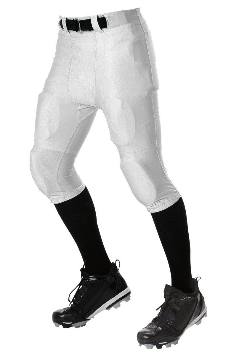 Alleson Youth No Fly Football Pant With Slotted Waist