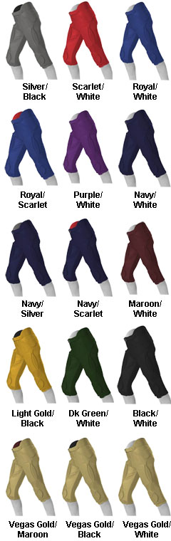 Youth Solo Series Reversible Football Pant - All Colors