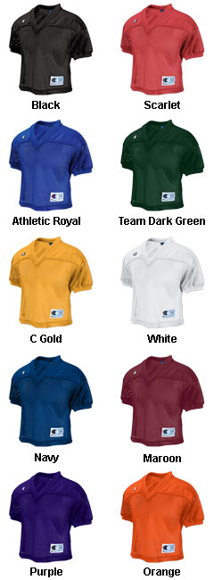 Champion Adult Fair Catch Practice Jersey - All Colors