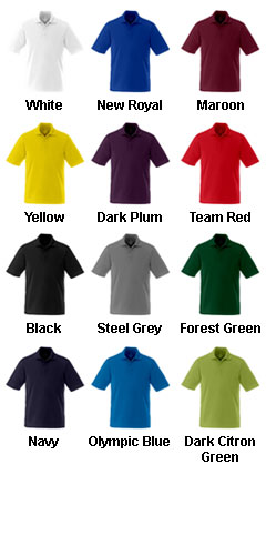 Mens Dade Short Sleeve Polo - All Colors