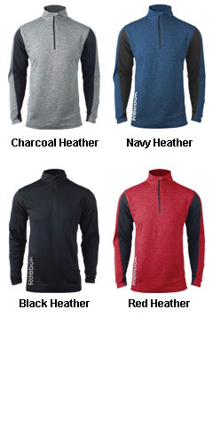 Mens Reebok Playdry Crossover Pullover - All Colors