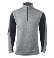 Custom Reebok Mens Playdry Crossover Pullover