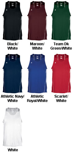 Mens Champion Raceday Singlet - All Colors