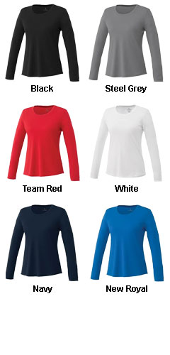 Womens Parima Long Sleeve Tech Tee - All Colors