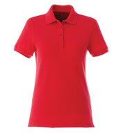 Custom Trimark Womens Belmont Short Sleeve Polo