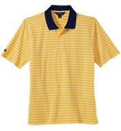 Custom Brooks Brothers Mens Uneven Bar Stripe Polo