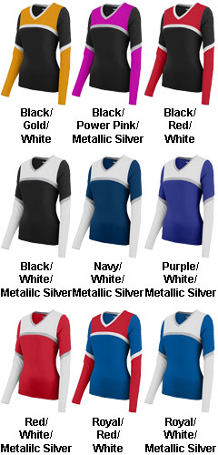 Youth Girls Cheerflex Rise Up Shell - All Colors