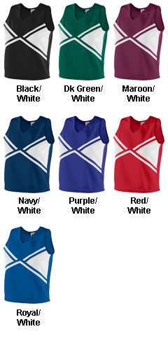 Ladies Explosion Shell Top - All Colors