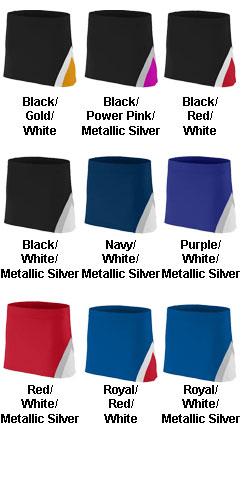 Youth Girls Cheerflex Skirt - All Colors