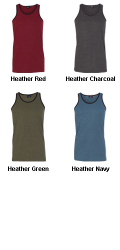 Burnside Mens Heathered Tank Top - All Colors