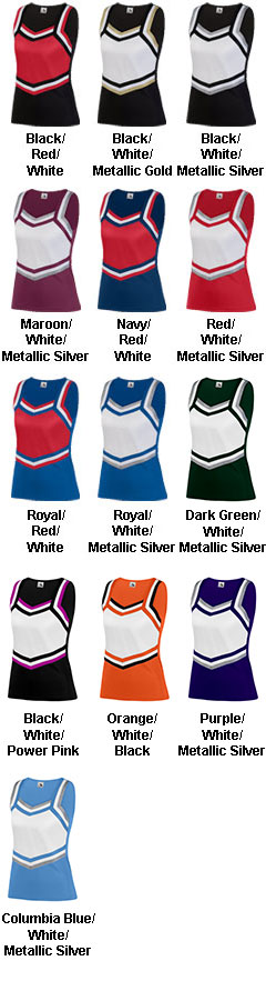 Girls Pike Cheer Shell - All Colors