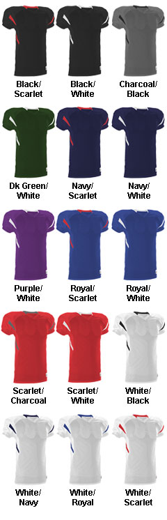 Alleson Adult Football Jersey - All Colors