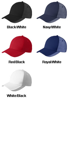 Two-Color Mesh Back Cap - All Colors