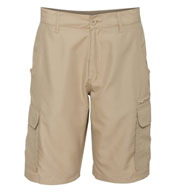 Custom Mens Burnside Microfiber Shorts