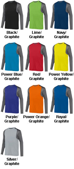 Adult Astonish Long Sleeve Jersey - All Colors