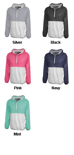 Womens Colorblock Anorak Jacket - All Colors