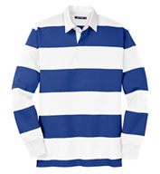Custom Sport-Tek Long Sleeve Rugby Polo