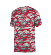 Custom Youth Mod Camo Wicking Tee