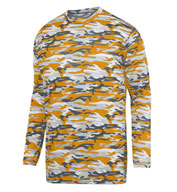 Adult Mod Camo Long Sleeve Wicking Tee