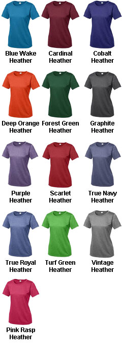 Ladies Heather Contender™ Scoop Neck Tee - All Colors
