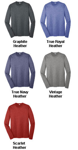 Adult Long Sleeve Heather Contender Tee - All Colors