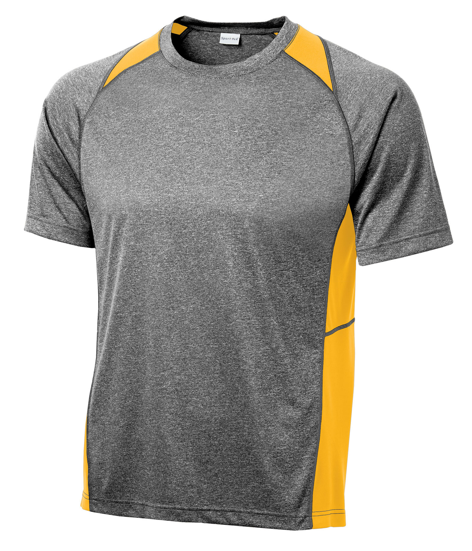 Adult Heather Colorblock Contender™ Tee