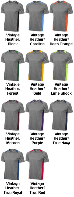 Youth Heather Colorblock Contender™ Tee - All Colors