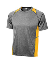 Custom Sport-Tek® Youth Heather Colorblock Contender™ Tee