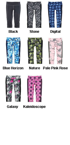 Ladies Core Capri - All Colors