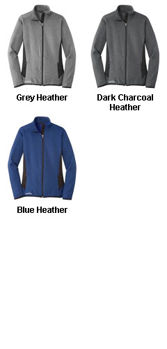 Eddie Bauer Ladies Full-Zip Heather Stretch Jacket - All Colors