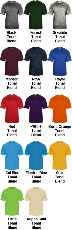 Youth Tonal Blend Tee - All Colors