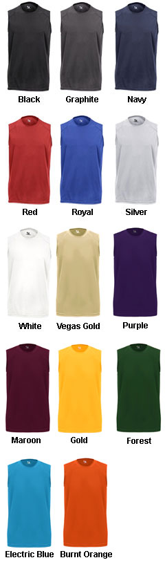 Youth B-Core Sleeveless Tee - All Colors
