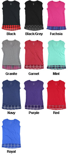 Womens Sorority Chic Top - All Colors