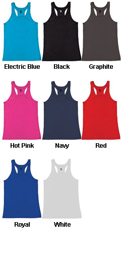 B-Core Youth Girls Racerback Tank - All Colors