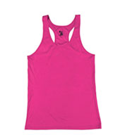 Custom B-Core Youth Girls Racerback Tank
