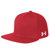 Custom Under Armour Flat Bill Solid Cap