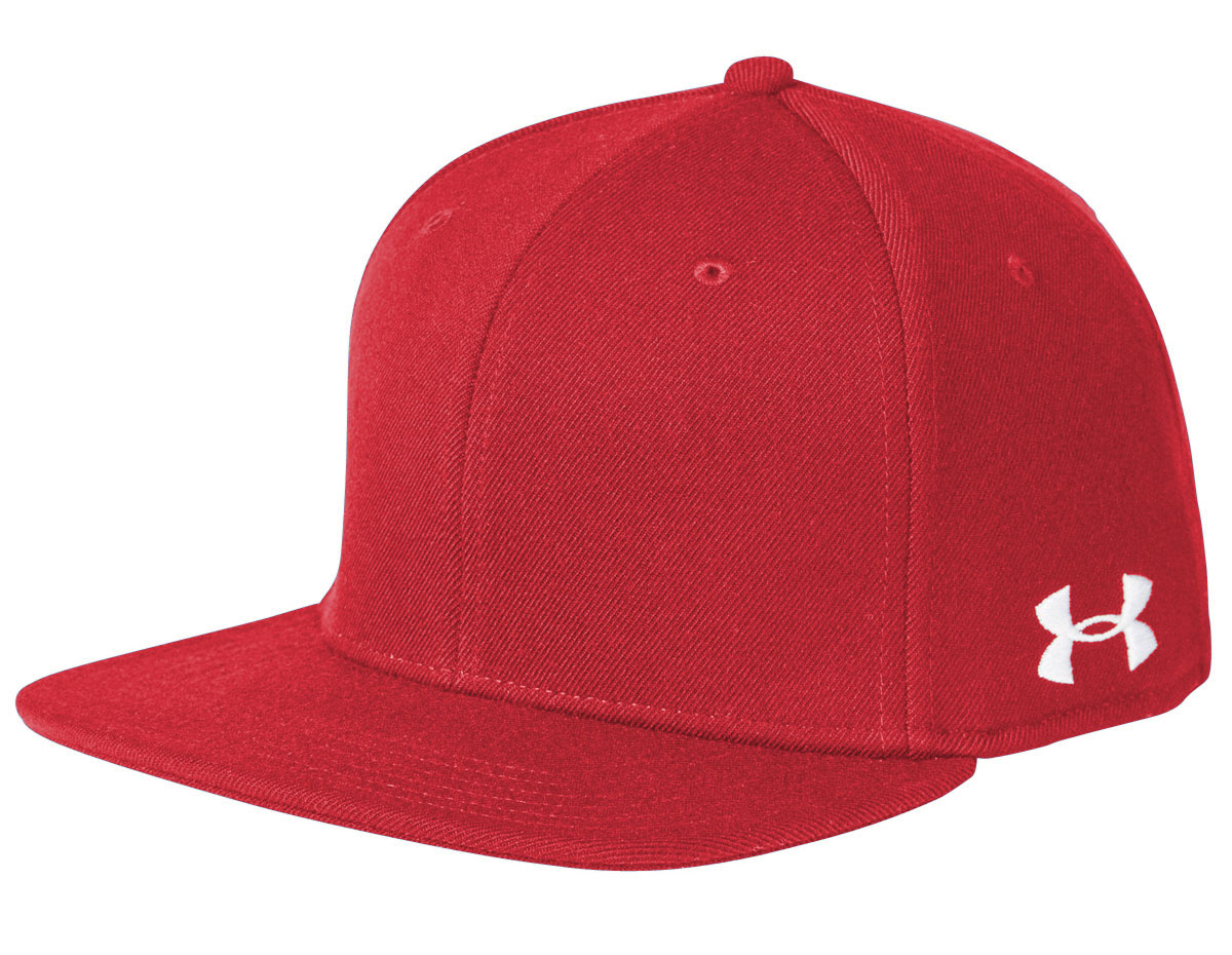 Custom Under Armour Flat Bill Solid Cap bbb1f9490b