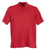 Custom Vansport™ Omega Mens Solid Mesh Tech Polo